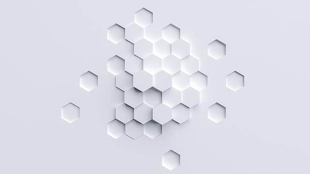 The Polygon, Hexagon, The Angular, White, Light