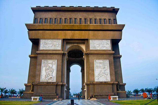 Gumul Simpang Lima, Monument, Kediri, The Arch, Victory