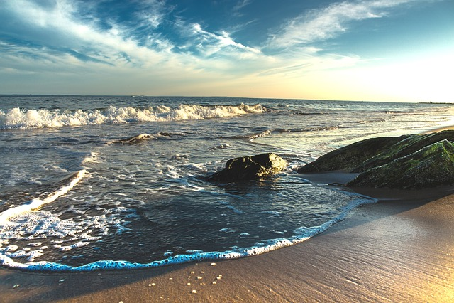 The Atlantic Ocean, Water, Ocean, Sea, Turquoise