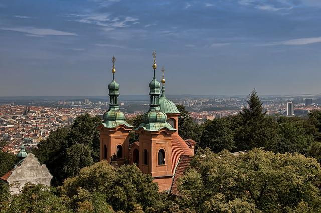 Prague, Czech, The Baptist Cathedral Of St Lawrence