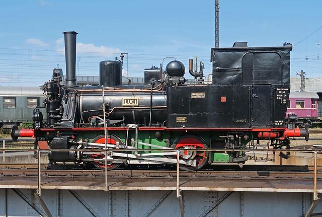 The Bavarian Railway Museum, Steam Locomotive, Luci