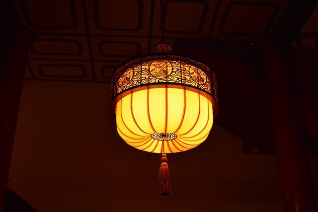 Xi'an, The Big Wild Goose Pagoda, Lantern