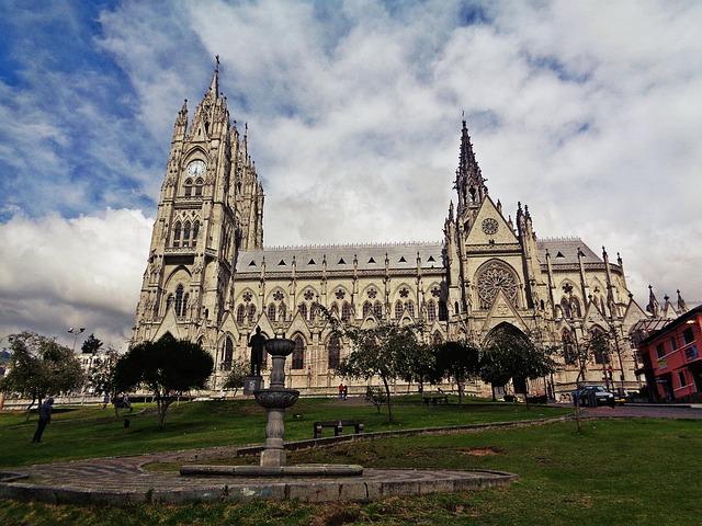 Quito, Ecuador, The Cathedral, Neogotyk
