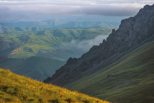 The Caucasus, Russia, Mountains, Camping, Travel