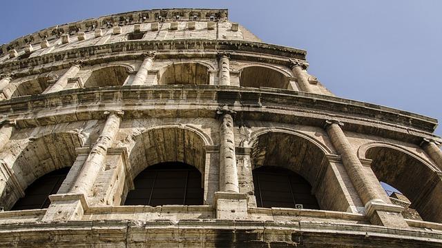 The Coliseum, Rome, Monuments