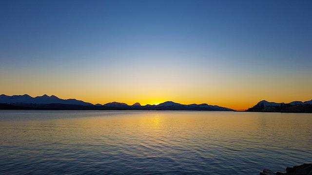 Sunset, The Dawning, Water, The Nature Of The
