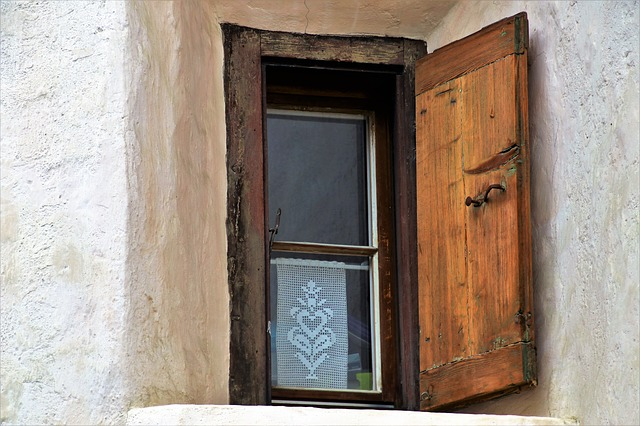 House, Lake Dusia, Window, Architecture, The Door