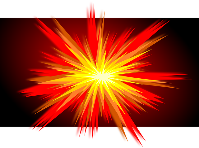 Explosion, Boom, The Eruption, Inkscape