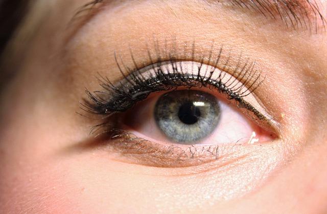 The Eye, Blue, False Lashes, Eyelashes, Eyeliner