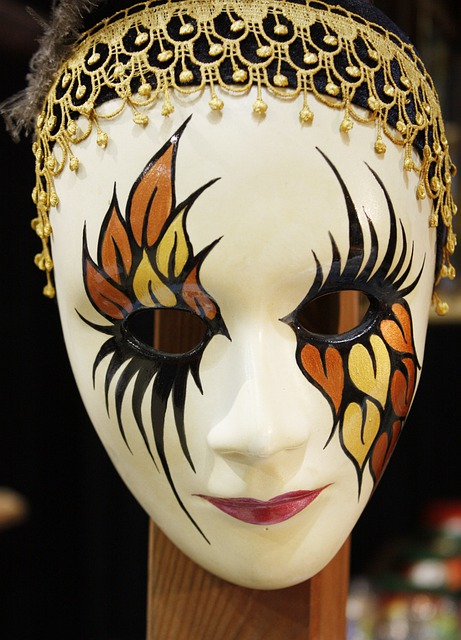 Mask, Decoration, Face, The Faces Of, Harlequin, People