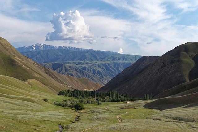 Kyrgyzstan, The Ferghana Mountains, The Ferghana Valley