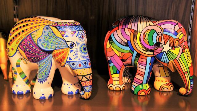 The Figurine, The Art Of, Animal, Elephant, Traditional
