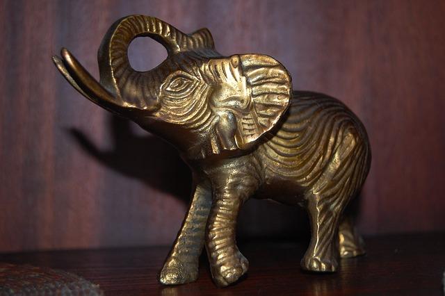 Elephant, The Figurine, The Statue, Statue, Sculpture