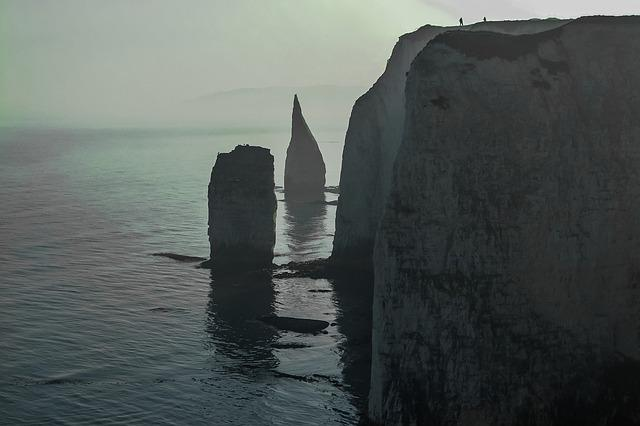 The Fog, Old Harry Rocks, Sea