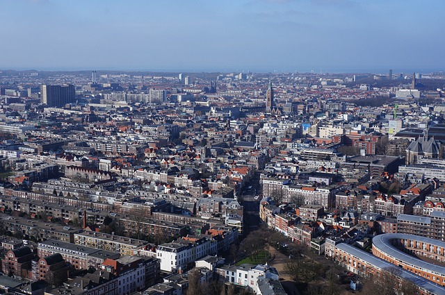 The Hague, Architecture, Panorama, Cityscape