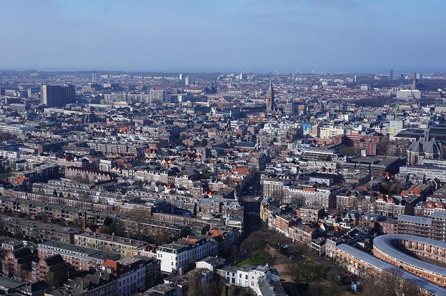 The Hague, Architecture, Panorama, Cityscape