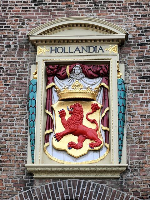 The Hague, Captured Port, Wall, Ornament