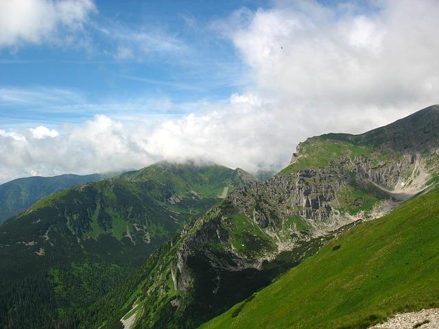 Mountains, Tatry, The High Tatras, Landscape, Sky