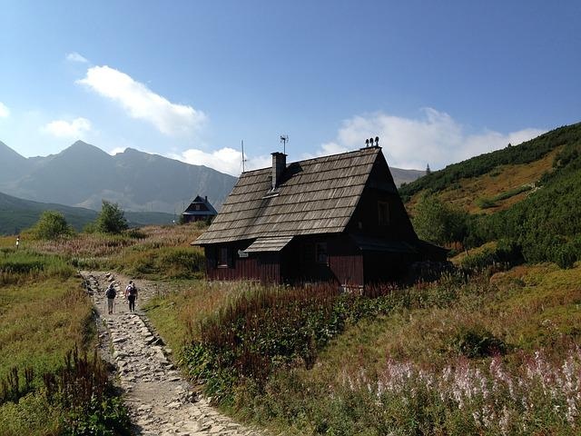 Mountains, Tatry, Trail, The High Tatras, Landscape