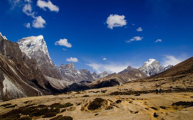 Nepal, The Himalayas, Mountains