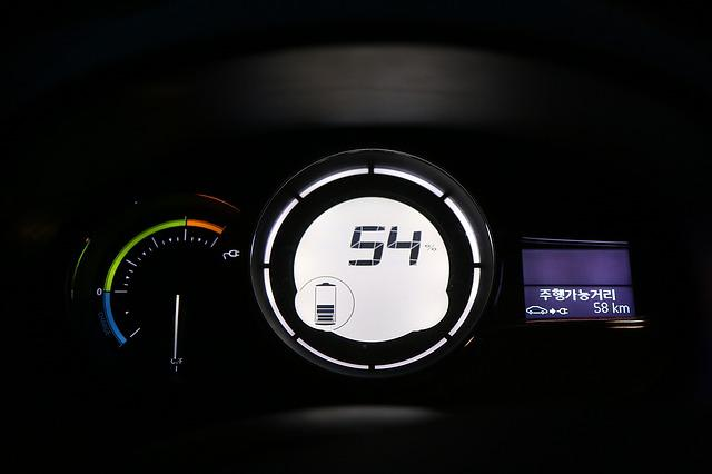 Electric Cars, Charging, The Instrument Panel