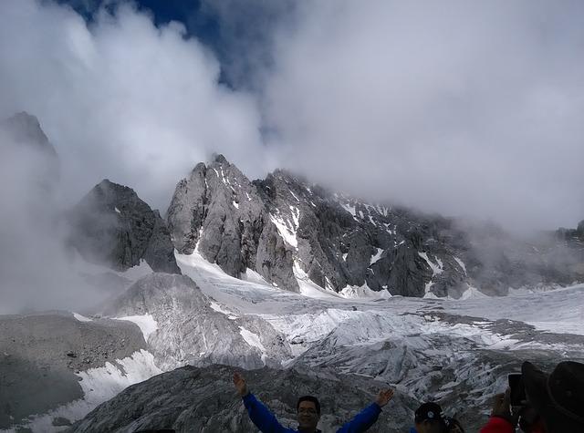 The Jade Dragon Snow Mountain, Lijiang, Yunnan