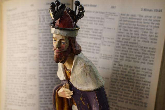 Christian Figurine, The King, Open Bible, Magi, Faith
