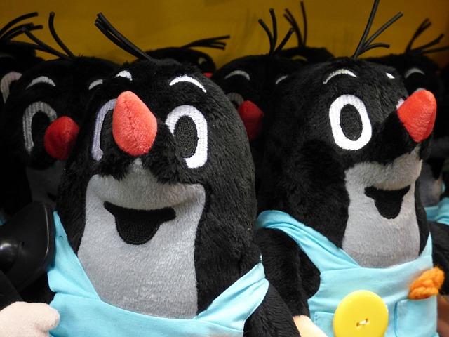 Mole, Plush, Toy, Teddy Bear, The Mascot, Toys, Pet