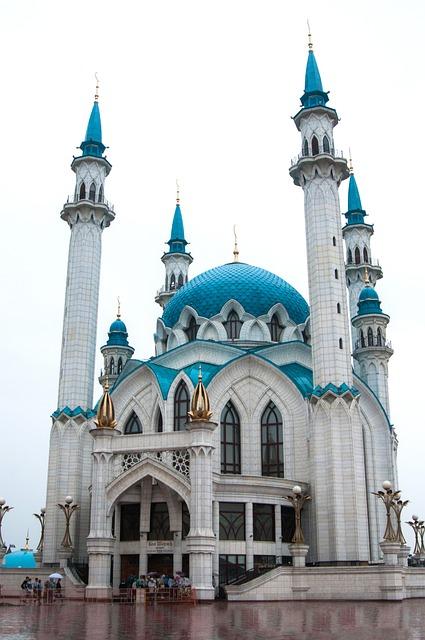 Architecture, Religion, Travel, The Minaret, Dome, Sky