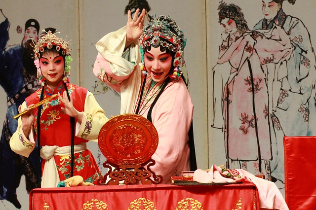Kunqu Opera, The Peony Pavilion, The Mirror