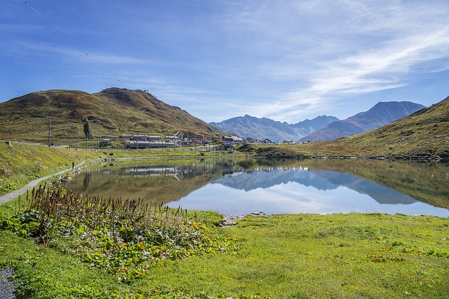 The Oberalp Pass, Oberalp, Switzerland, Nature