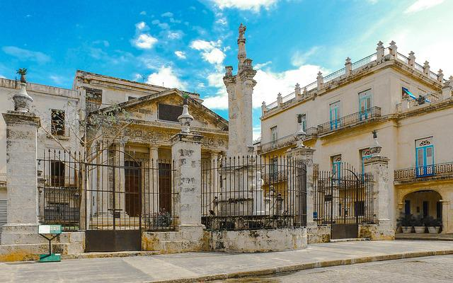 Havana, Cuba, Buildings, Old, The Old Town, Monuments