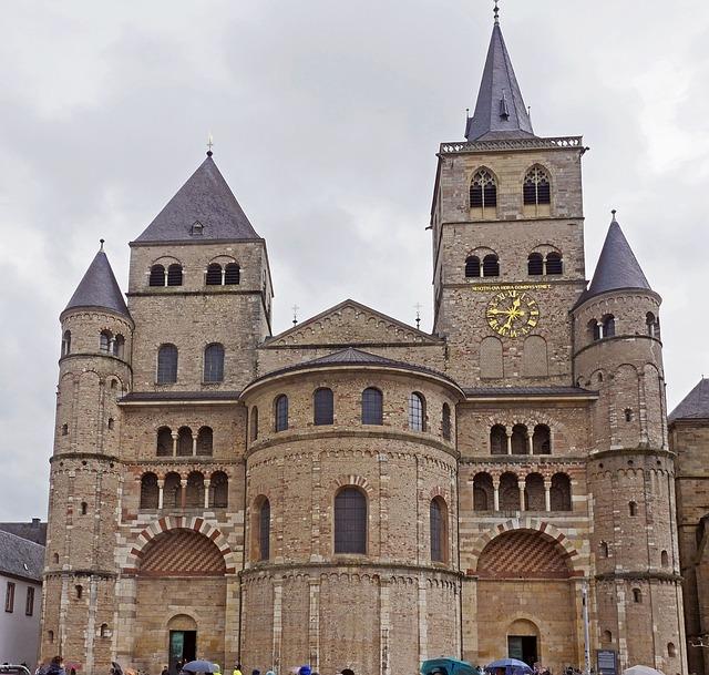 Trier, Dom, Main Entrance, The Oldest Bishop's Church
