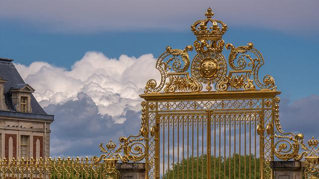 Goal, Ornament, Artfully, The Palace Of Versailles