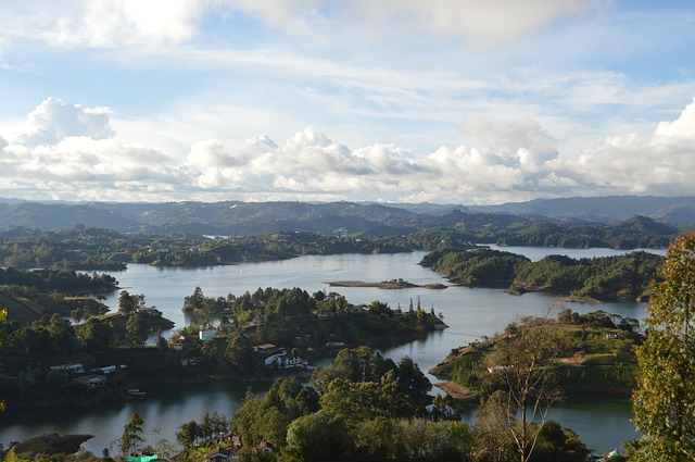Reservoir, The Peñol, Colombia, Tourism