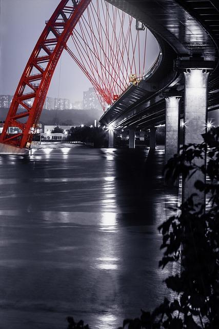 The Picturesque, Bridge, Moscow, City, River