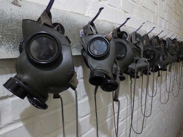 Gas, Gas Mask, Mask, Filter, The Protective