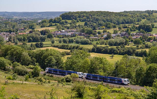 The Province Of Limburg, The Hills To The, Train