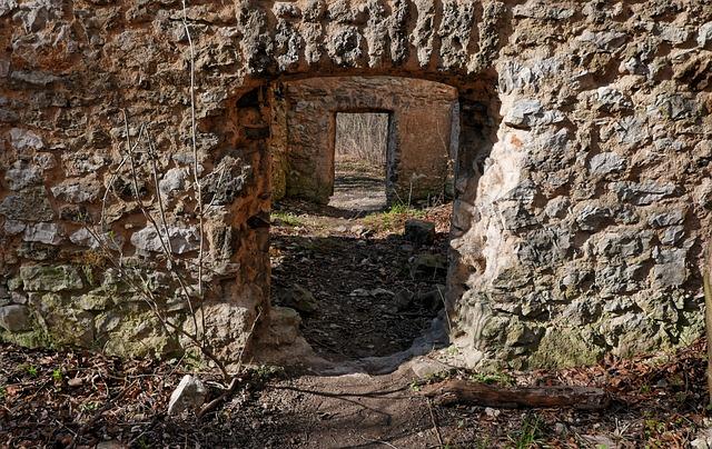 Lake Dusia, The Ruins Of The, Gateway, Holes