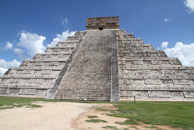 Pyramid, Mexico, The Ruins Of The, Chichen Itza