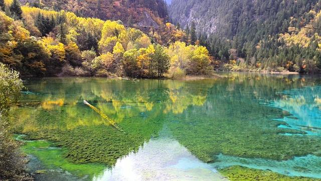 Jiuzhaigou, Before The Earthquake, The Scenery, Autumn