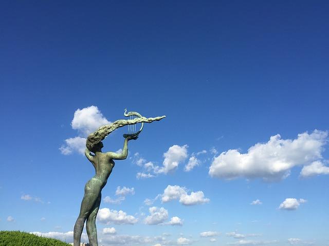 The Sea, Blue Sky, Beach, Cloud, The Scenery, Qingdao