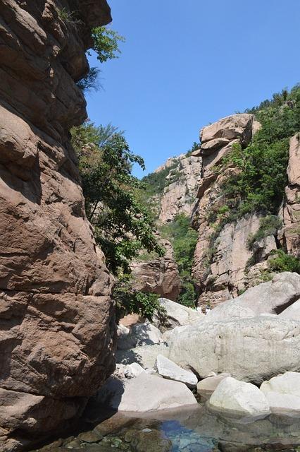Stone, Mountains, The Scenery, Laoshan, Qingdao