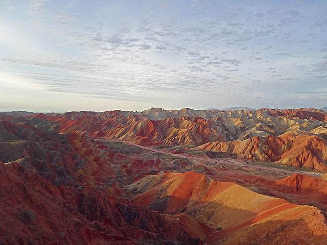 Zhangye, Mountain, The Scenery