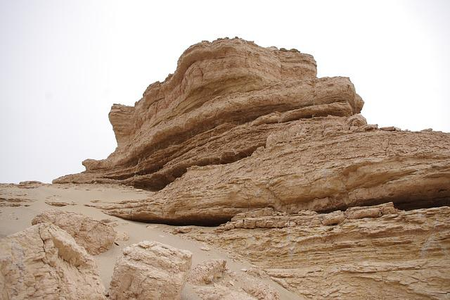 Tourism, The Scenery, Desert, Dunhuang, Landform