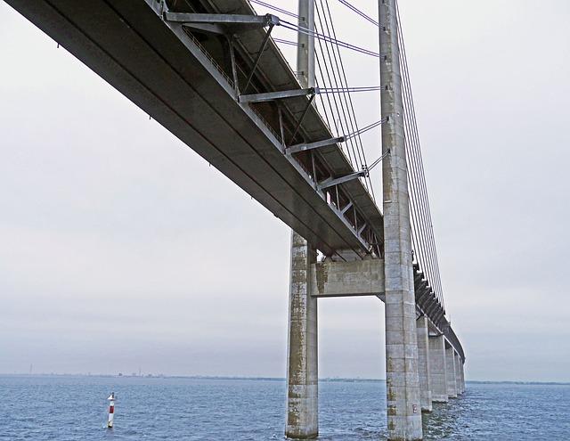 Oresund Bridge, Baltic Sea, The Sea Crossing