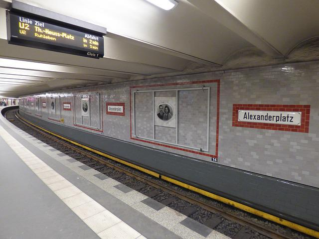 Tracks, Metro, The Station, Railway Station, Germany