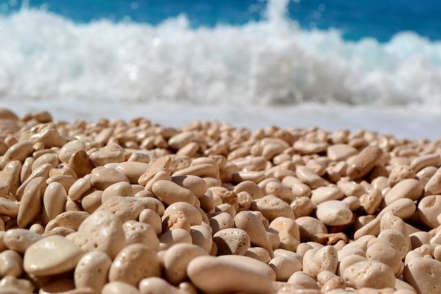 Sea, Beach, Greece, Zakythos, The Stones, Turquoise