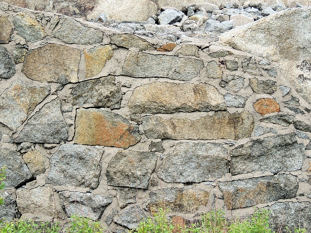 Wall, The Stones, Strengthening, Brick, Texture, Lock