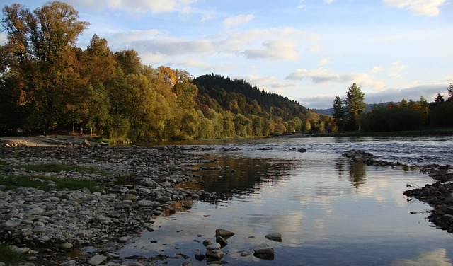 Pieniny, Mountains, Landscape, Water, The Stones, River